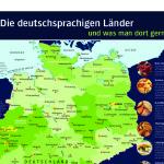 Platos típicos de la cocina alemana, por regiones