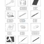Amplio vocabulario básico alemán con imágenes (no solo) para niños