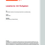 Amplia colección de textos alemanes de nivel B1 con ejercicios