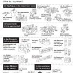 32 páginas de vocabulario alemán básico (con dibujo y traducción al inglés)