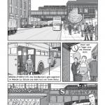 10 páginas de la novela gráfica: Berlin – Geteilte Stadt