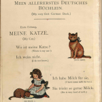 My very first little german book: una lectura alemán-inglés para niños – ¿de principios de s. XX?