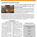 Periódico didactizado: 25 años de reunificación